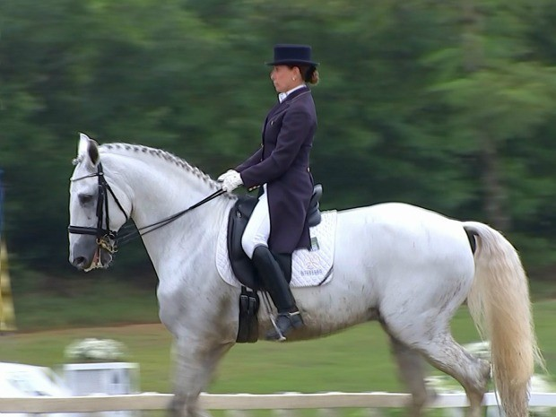 Raça é uma das preferidas dos competidores, devido ao seu charme e balanço (Foto: Reprodução / TV TEM)