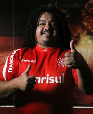 Internacional Inter Perdigão Especial 2006 Inter Libertadores 2006 (Foto: Eduardo Deconto/GloboEsporte.com)