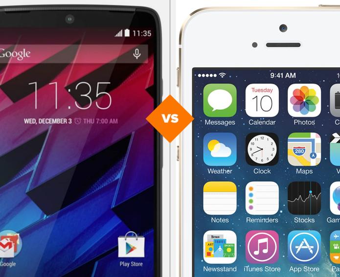 Moto Maxx e iPhone 5S: veja o comparativo de ficha técnica (Foto: Arte/TechTudo)