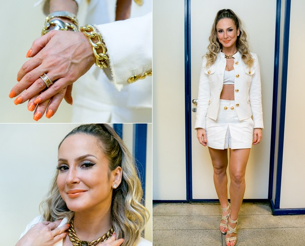 Claudia Leitte - Look (Foto: Isabella Pinheiro/Gshow)