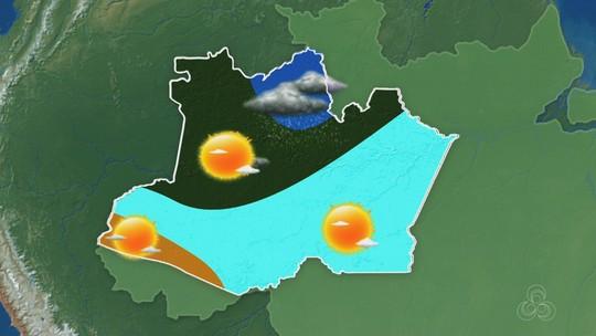 Confira a previsão do tempo para o Amazonas nesta terça-feira (27)