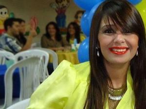 Alessandra Fernandes Silva, 41 anos sonhava em fazer as cirurgias plásticas (Foto: Arquivo Pessoal)