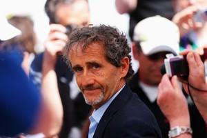 Alain Prost em Mônaco (Foto: Getty Images)