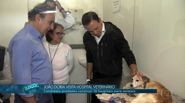 João Doria (PSDB) faz campanha em Tatuapé