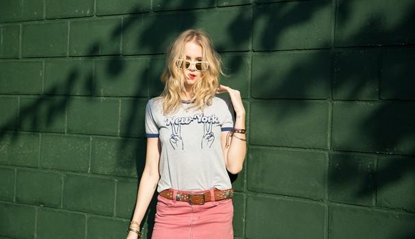 Isabella Scherer em clique exclusivo pra Glamour (Foto: Divulgação)
