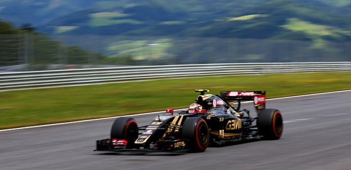 Pastor Maldonado - Lotus - GP da Áustria (Foto: Getty Images)