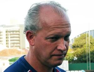 Mauro Ovelha, técnico do Atlético de Ibirama (Foto: Fernando Martinez/Aguante Comunicação)