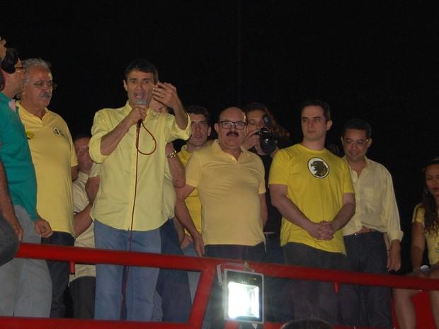 Romero Rodrigues (PSDB) foi reeleito prefeito de Campina Grande (Foto: Artur Lira / G1)