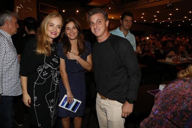 Huck, Angélica e Dieckmann (Foto:  Felipe Assumpção / AgNews)