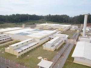 Presídio começou a ser construído em julho de 2013 (Foto: Divulgação/SSP-RS)