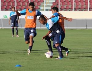 Confiança treino (Foto: Osmar Rios)