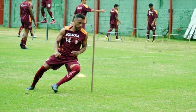 Carlos Renato meia Boa Esporte (Foto: Régis Melo)