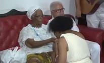 Mãe Stella de Oxóssi completa 91 anos (Reprodução/ TV Bahia)