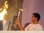 Bi olímpico e Daniel Dias puxam o revezamento da tocha em Campinas