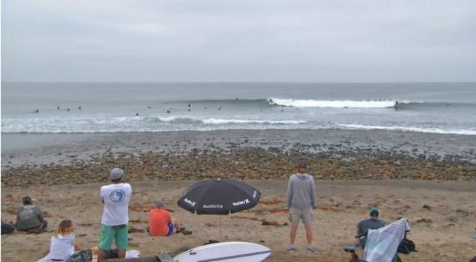 Etapa de Trestles - dia 1 - surfe (Foto: Reprodução/WSL)