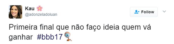 Tuíte Final (Foto: Reprodução Twitter\@adonzeladoluan)
