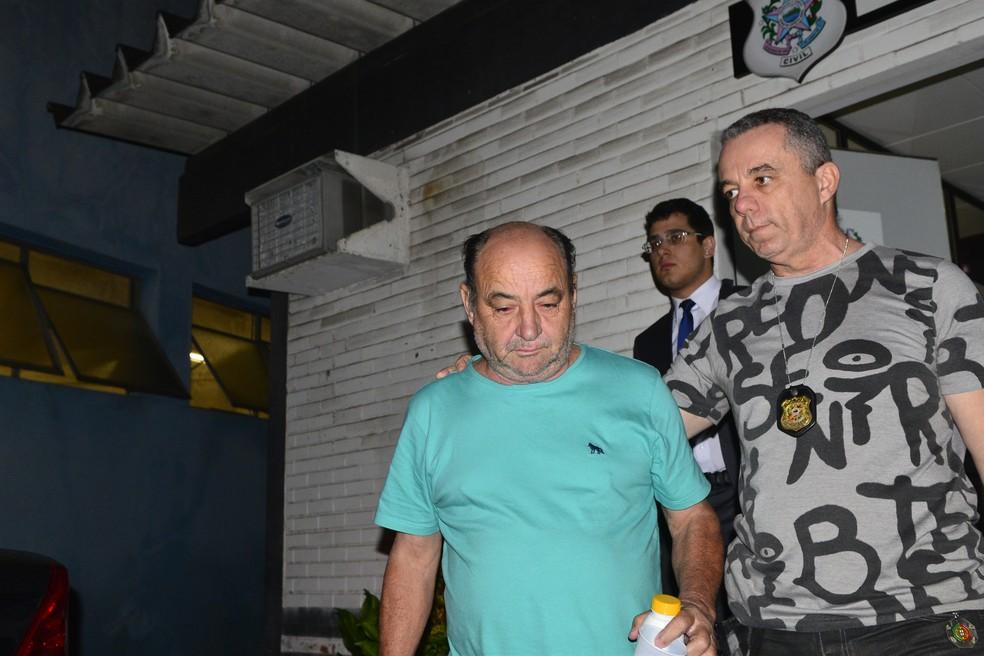 Jacymar Pretti, de 63 anos, um dos donos da Jamarle Transportes,  (Foto: Guilherme Ferrari/ A Gazeta)
