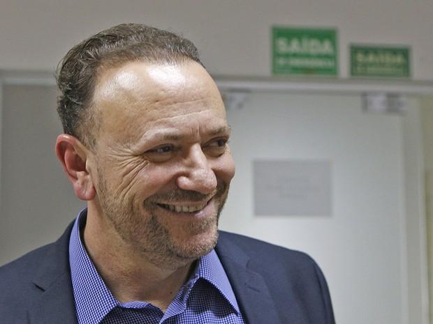 Edinho Silva PT-SP tesoureiro Dilma ministro Comunicação Social (Foto: Dida Sampaio/Estadão Conteúdo)