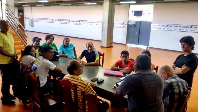 Em assembleia ordinária, Federação Acreana de Handebol cria TJD e Liga Acreana de Handebol de Areia  (Foto: Maria Rosaídes/ arquivo pessoal)