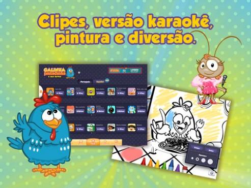 screenshot de Turma da Galinha Pintadinha