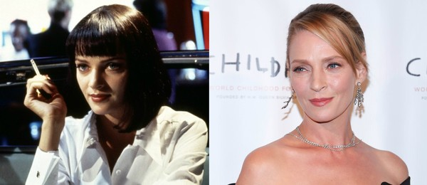 Uma Thurman foi imortalizada como Mia Wallace em 'Pulp Fiction' (1994) (Foto: Reprodução/Getty Images)