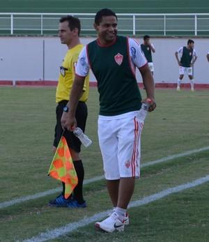 Nei Santos, técnico do Rio Branco Sub-19 (Foto: Duaine Rodrigues)