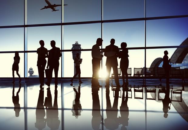 Passageiros esperando no aeroporto (Foto: Thinkstock)