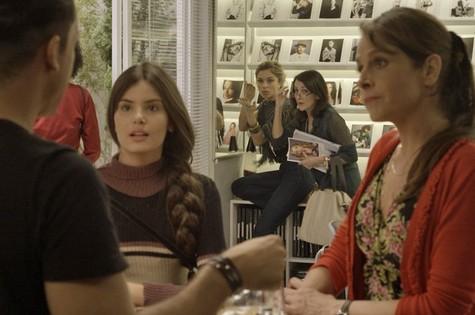 Cena da estreia de 'Verdades secretas' (Foto: TV Globo)