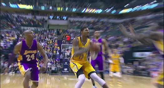 La Lakers 87 x 89 Pacers