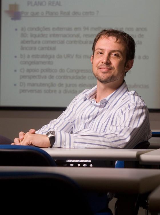 Nélson Marconi, economista e professor de Economia da Fundação Getúlio Vargas  (Foto: Claudio Rossi/ Editora Globo)