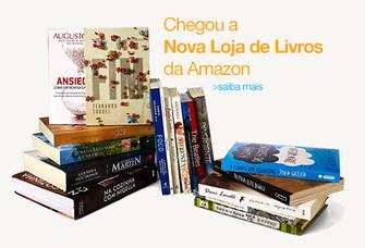 Loja de livros impressos da Amazon Brasil (Foto: Reprodução/Amazon)