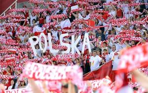 Torcida Polônia vôlei  (Foto: FIVB)