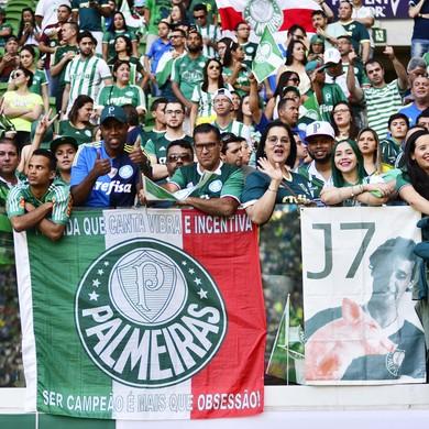 Palmeiras x São Paulo - torcida (Foto: Marcos Ribolli)