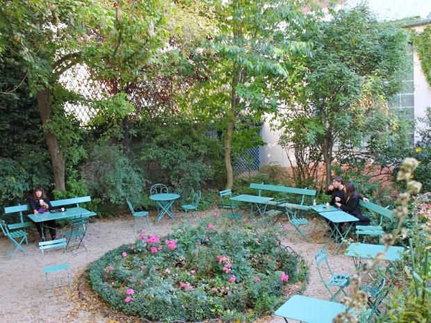 Café do Museé de la Vie Romantique, em Paris (Foto: Ana Carolina Peliz/Especial para o G1)