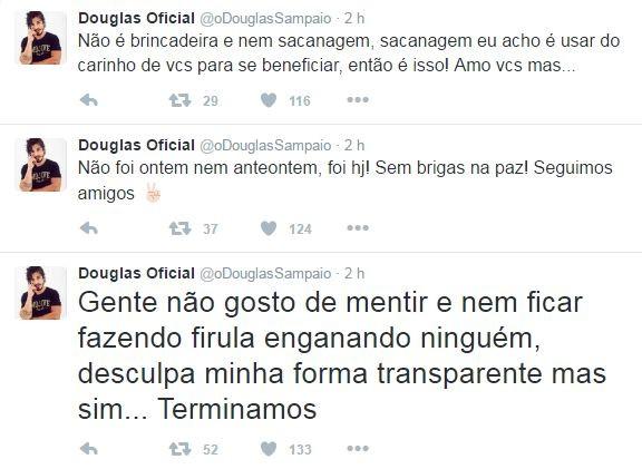 Douglas Sampaio (Foto: Twitter / Reprodução)