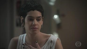 Flávia tem um mau pressentimento sobre a consulta de Isabela e Zelito a Mileide