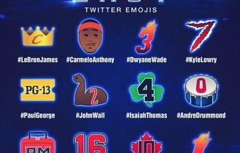 NBA divulga emojis dos jogadores que disputam o All-Star Game 2016