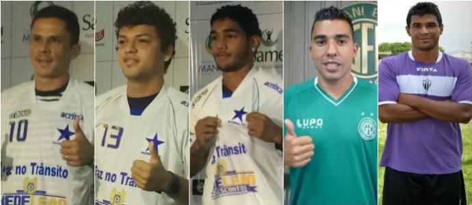 Nacional - meias de 2015 (Foto: GloboEsporte.com)