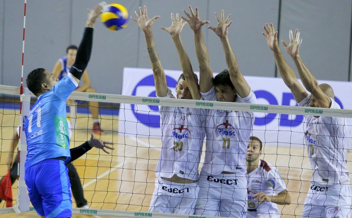 Minas x UFJF Superliga Masculina (Foto: Orlando Bento/ Minas Tênis Clube)
