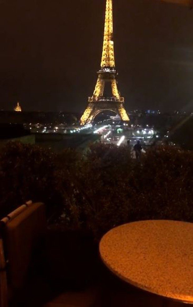 Torre Eiffel (Foto: Reprodução/Instagram)