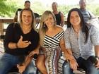 Calcinha Preta apresenta nova cantora em show no Speed Day
