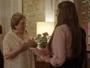 Damasceno leva Elisa para conhecer a família De Angeli