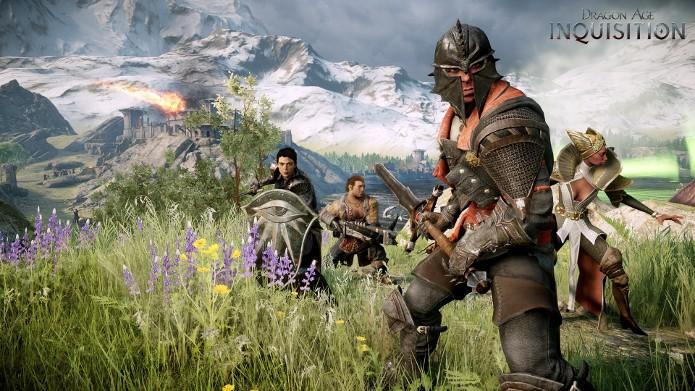 Dragon Age: Inquisition trará um gigantesco mundo para ser explorado. (Foto: Divulgação)