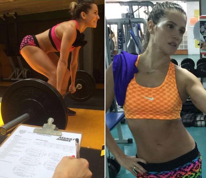 Deborah Secco fez exercício e dieta para perder os 25 kg da gravidez (Foto: Arquivo Pessoal)
