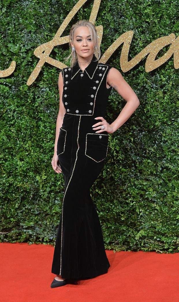 Rita Ora no British Fashion Awards (Foto: Getty Images)