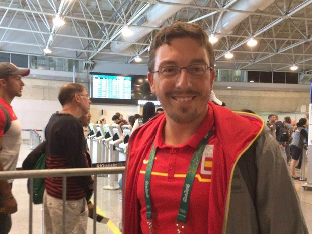 Jordi Valls, da Espanha, diz vai sentir saudades do Rio de Janeiro (Foto: Patricia Teixeira/G1)