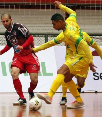 Atlântico Erechim Marechal Rondon Liga Nacional de Futsal (Foto: Edson Castro/Prime Com)