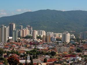 CIdade de Mogi das Cruzes (Foto: Reprodução/ TV Diário)