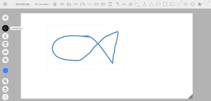 Ferramenta é perfeita para quem não sabe desenhar (Foto: Reprodução/Camila Peres)