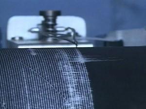 Sismógrafo que faz as medidas na represa de Paraibuna. (Foto: Reprodução/TV Vanguarda)